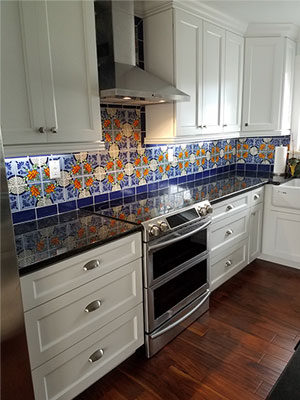 Tile With Style Country Kitchen Country Kitchen Farmhouse Spanish Style Kitchen