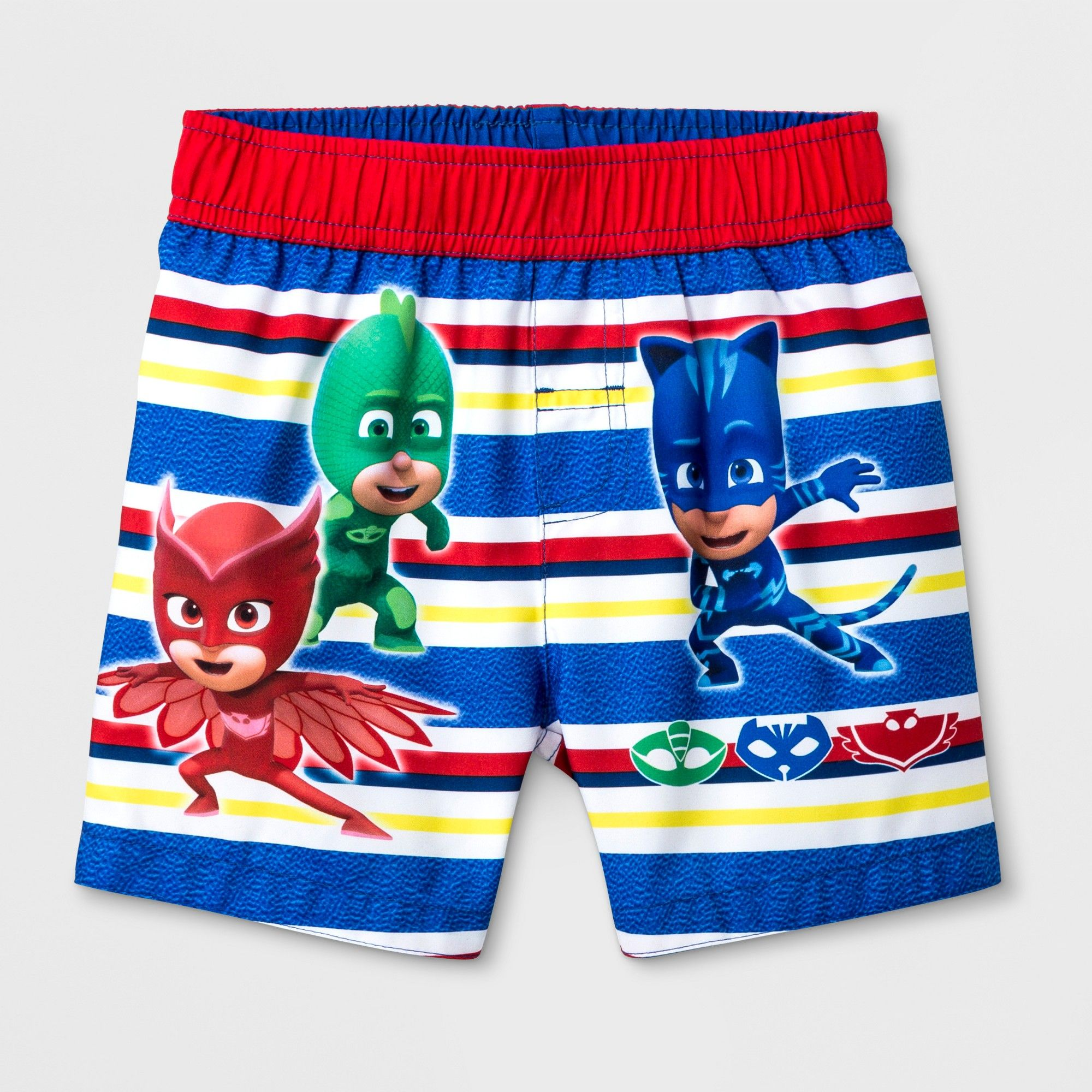 01d6f87883e86 Toddler Boys' PJ Masks Swim Trunks - Blue 4T in 2019 | Carson | Swim ...