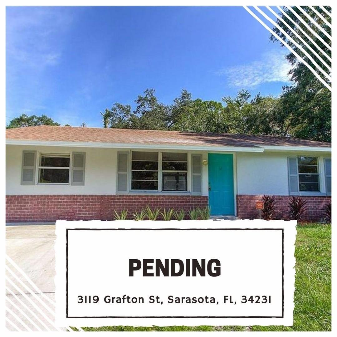 UNDER CONTRACT! 3119 Grafton St, Sarasota, FL, 34231