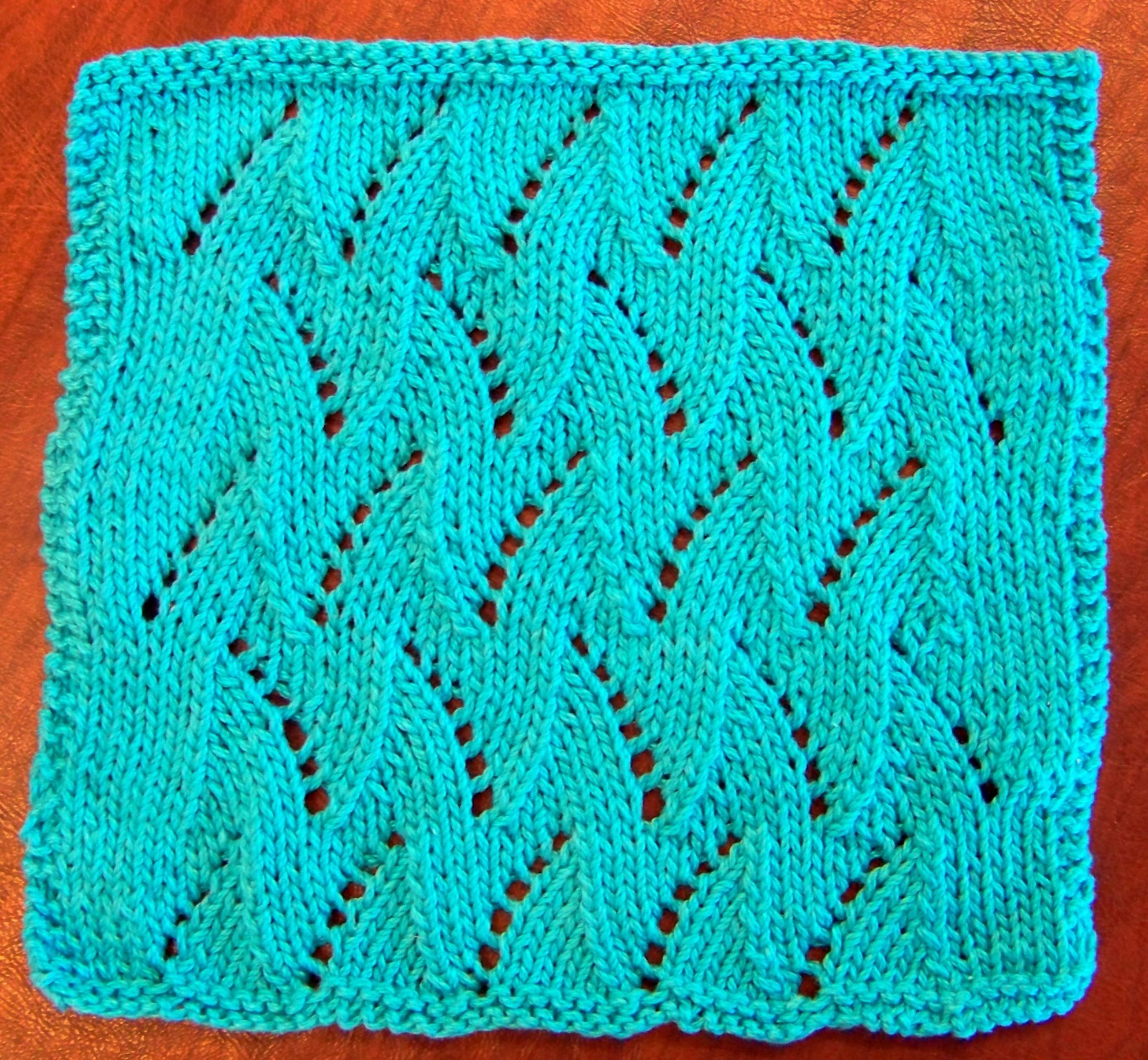 Laws Of Knitting Features A New Free Kitchen Dishcloth Pattern