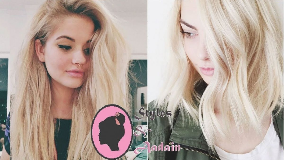 How to Color Your Hair Blonde at Home - Best Hair Color for Dark ...
