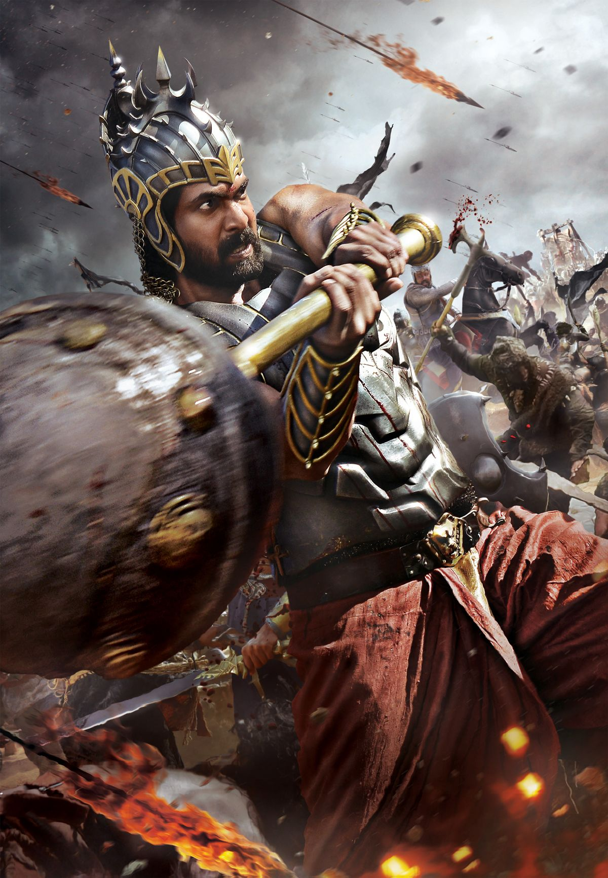 bahubali on behance | digital art amazing / www.larvagraphics
