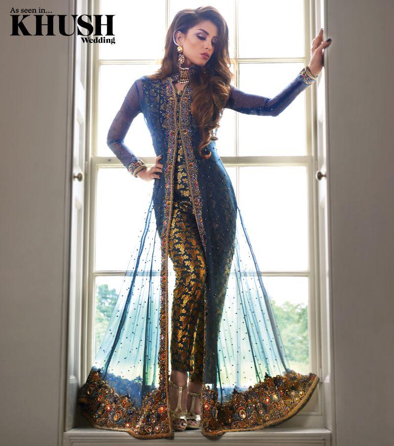 a9a0ec4aa7d Make a style statement with a Guls Style trouser jacket combo  www.GulsStyle.co.uk Makeup  Kajol Beauty Mua Hair  Shamalah Hairstytlist  Jewellery  NK ...