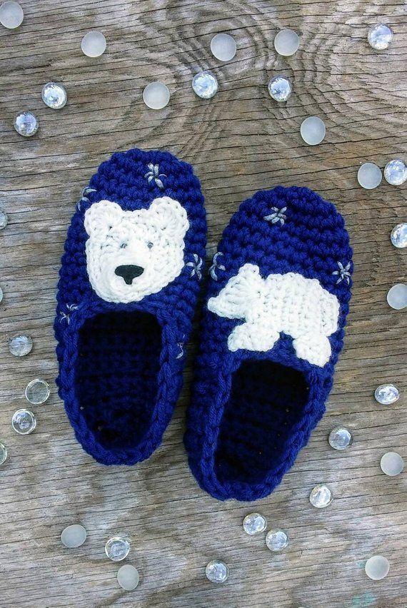 2a668540b6d0 Arctic Polar Bear Slippers