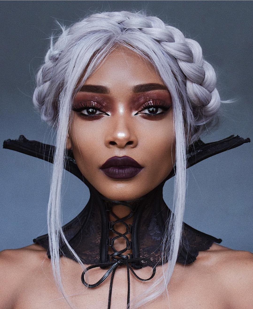 Pin Od Winella Krens Na Nyane Lebajoa Fryzury Włosy I Makijaż