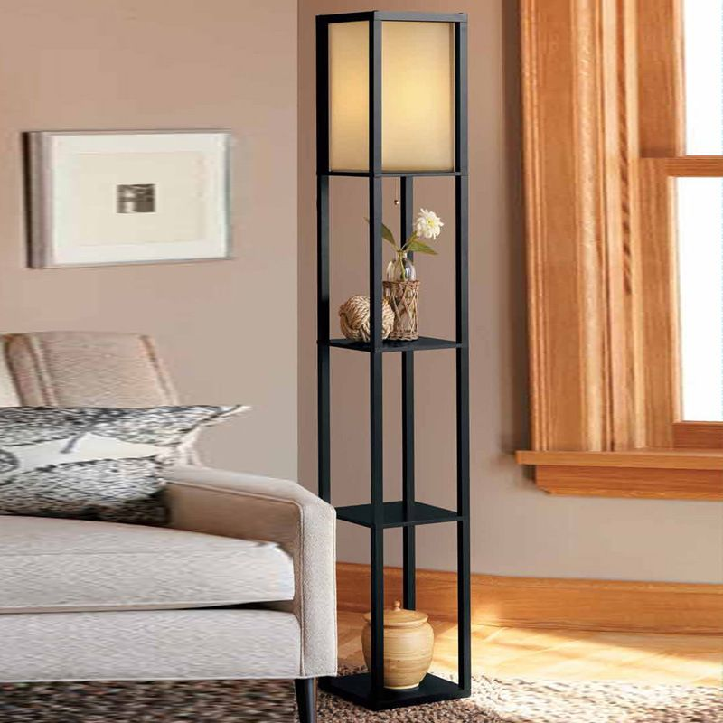 Chinese Style Floor Lamp Living Room Modern Minimalist Wooden Bedroom Vertical Desk La Floor Lamps Living Room Modern Floor Lamps Living Room Lamps Living Room