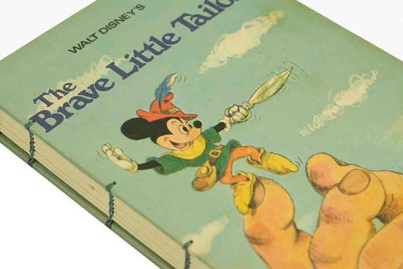 1974 MICKEY MOUSE Vintage Book Notebook/Journal ($41.50, includes shipping)