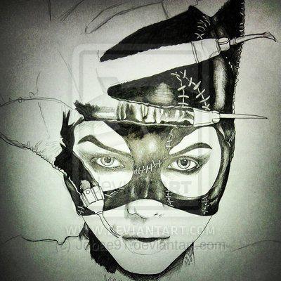 Michelle Pfeiffer catwoman art | Catwoman (Michelle Pfeiffer) by ~ Jobae91