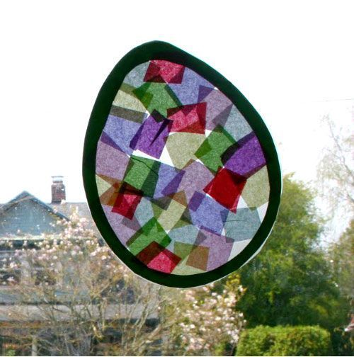 easter craft stained glass easter pinterest easter crafts