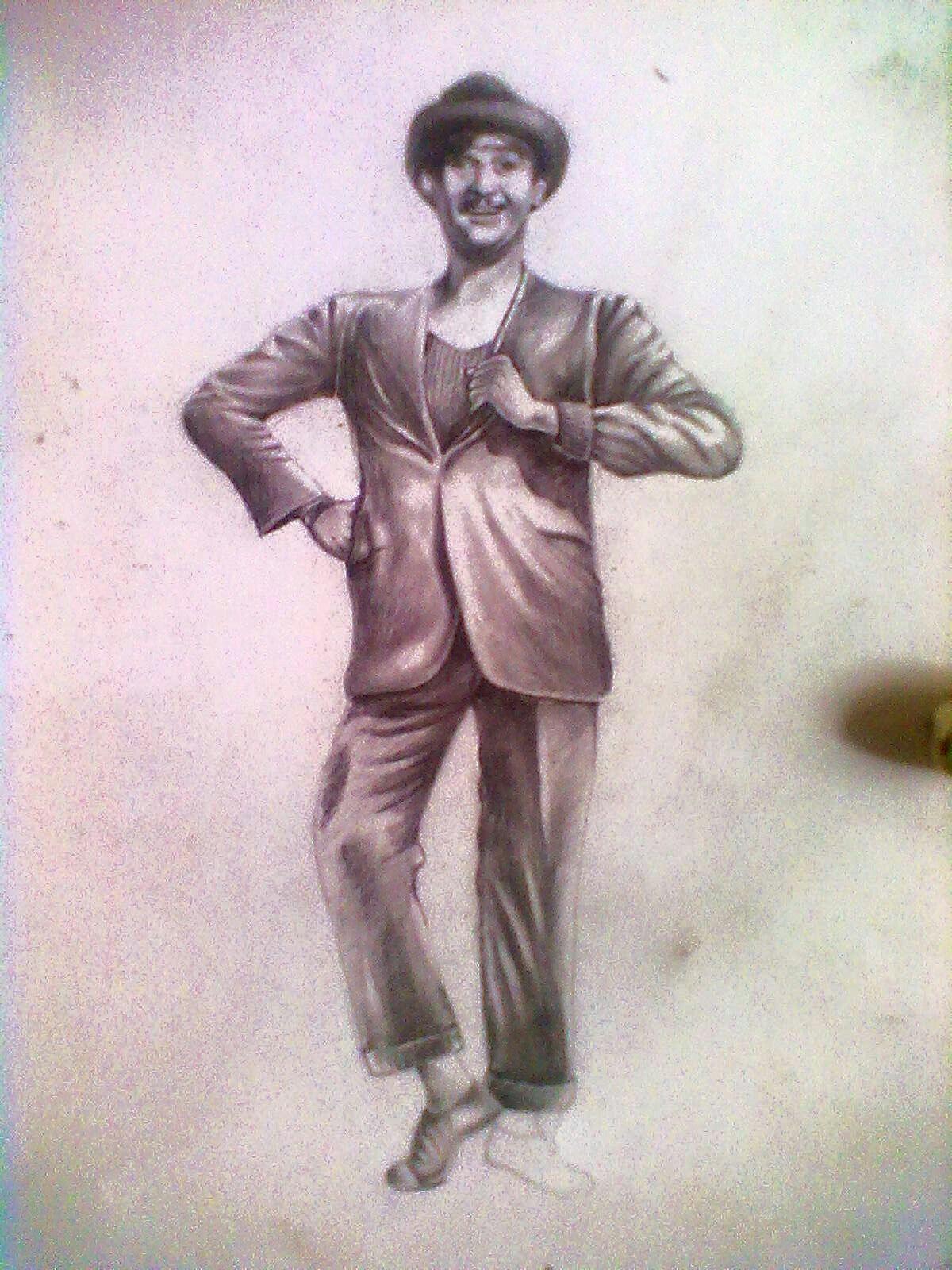 Joker raj kapoor pencil shading joker shades sketches croquis draw