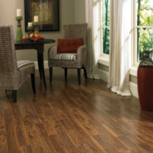 Columbia Style Clic Laminate Floors Color Heritage Walnut Smoke 2 Strip Laminates Come In Diffe