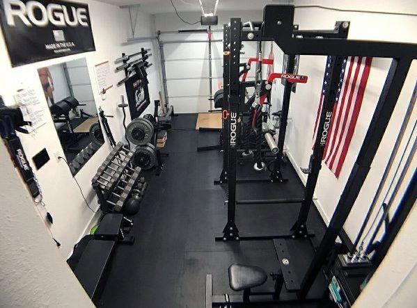 Unique Garage Gym Ideas Homegyms Home Gym Flooring Home Gym