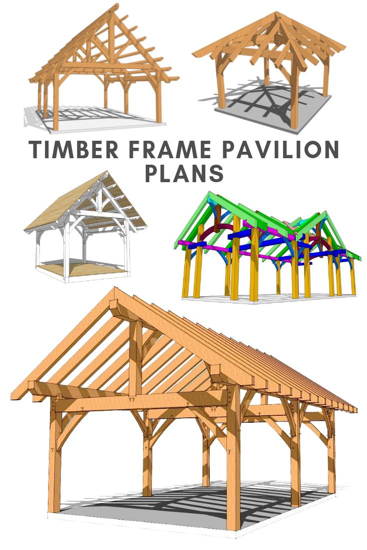 Timber Frame Pavilion Plans Timber Frame Pavilion Pavilion Plans Backyard Pavilion