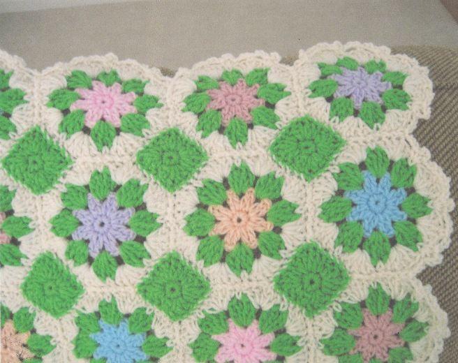 Pastel Multi Colored Floral Afghan   Crochet   Crochet ...