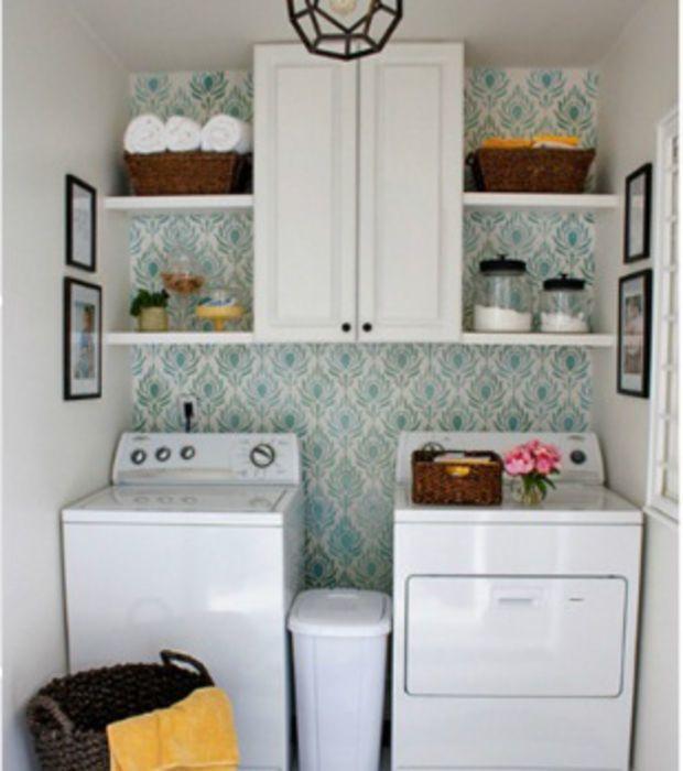 Dale vida a tu lavander a con una pared colorida for Lavadero decoracion