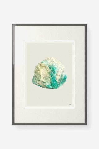 Aventurine Mix (No. 3) quartz crystal print - Young & Able
