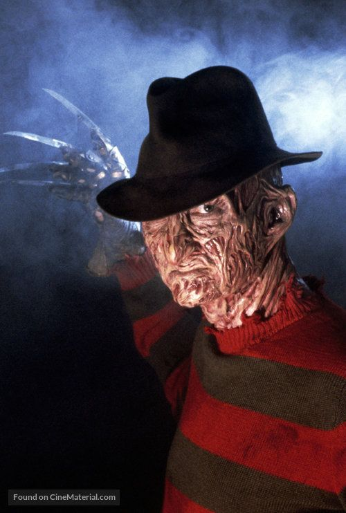 A Nightmare On Elm Street Key Art Freddy Krueger Horror Movie