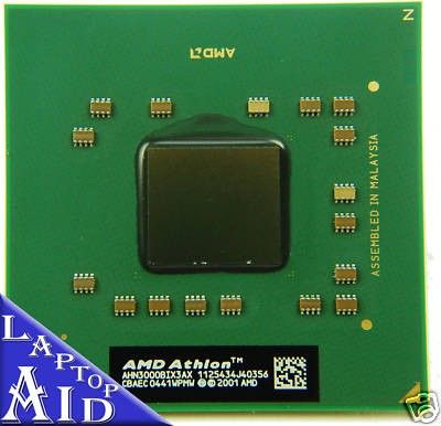 AMD Athlon 64 X2 TK-53 1.7 GHz Laptop Processor AMDTK53HAX4DC TESTED