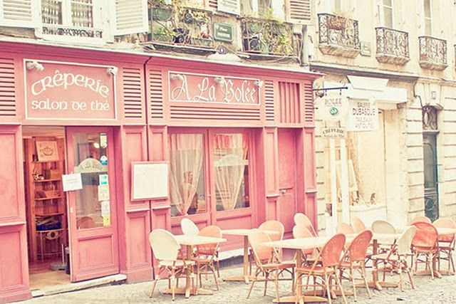 Cafes And Coffee Pink Cafe