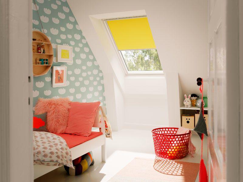 chambre enfants color e velux chambre avec velux. Black Bedroom Furniture Sets. Home Design Ideas