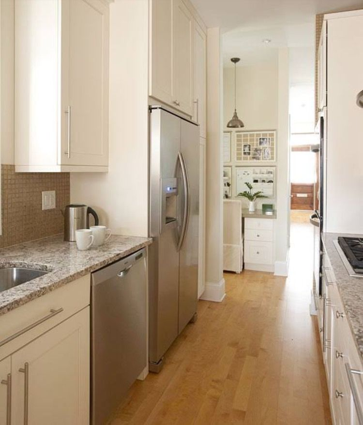 Narrow Galley Kitchen Ideas: Pin By Kate McDonnell On Kitchen