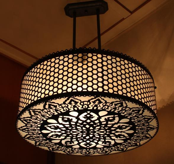 Ottoman Spider Style Pendant Lampshade Chandelier ...