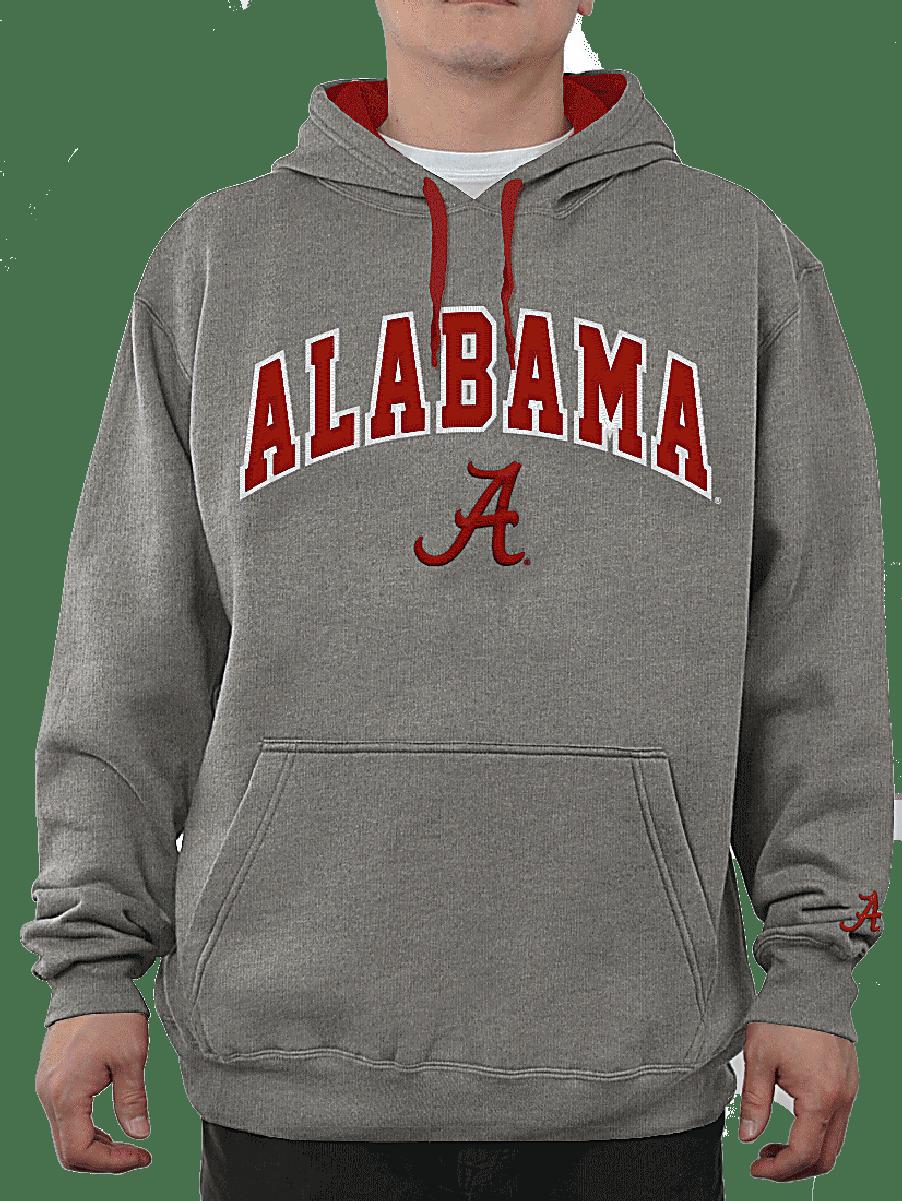 Ncaa Alabama Crimson Tide Grey Embroidered College Classic Hoodie Sweatshirt 49 95 Sweatshirts Sweatshirts Hoodie Alabama Crimson Tide Clothing [ 1201 x 902 Pixel ]