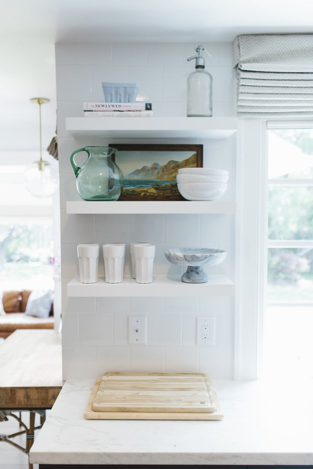 Lynwood Remodel: Kitchen | Studio mcgee, Open shelves and Shelves