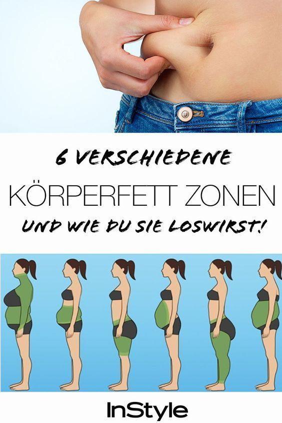 Bauchfett, Reiterhosen & Co.: So wirst du Körperfett an verschiedenen Stellen los #fitnesschallenges...