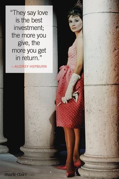 Audrey Hepburn, actress and star of classics like My Fair Lady and Breakfast at Tiffany's, is one of the greatest screen legends of all time.
