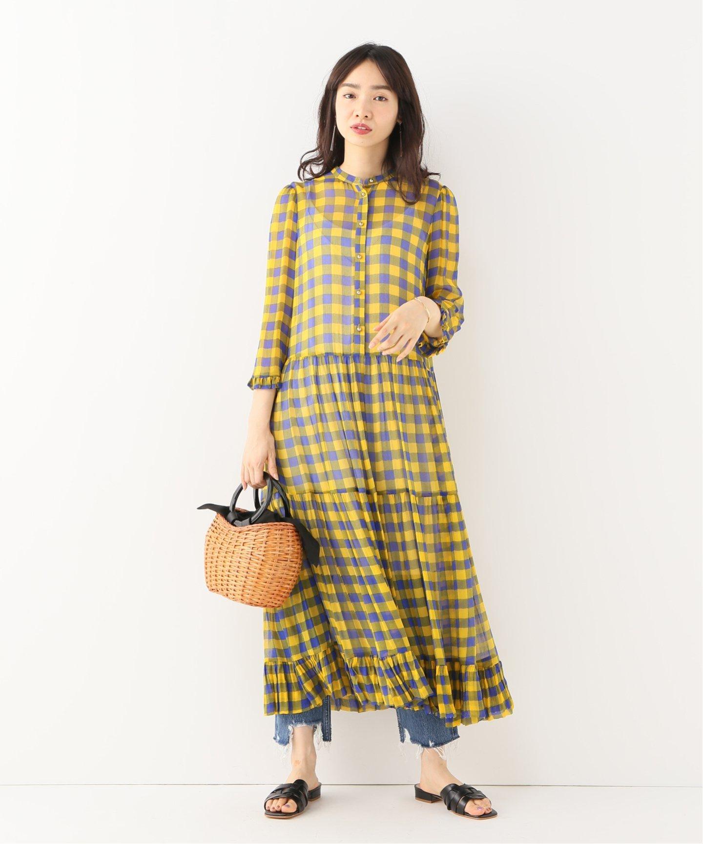 baum und pferdgarten チェックワンピース iena イエナ 公式のファッション通販 19040910010610 baycrew s store pakaian kasual pakaian kasual