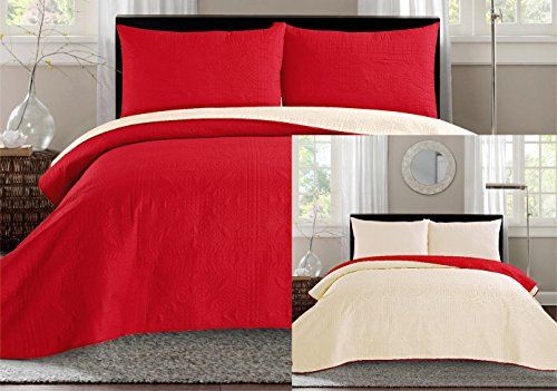 Beautiful solid Red Comforter