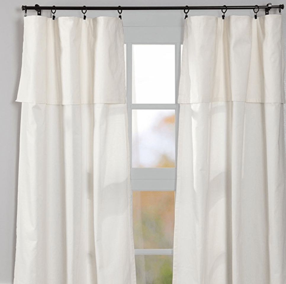 Farmhouse Frenzy 10 DIY's For Farmhouse Window Decor is part of Country Home Accessories Window - Farmhouse Frenzy week continues  Here are 10 farmhouse window decor tutorials from curtains to hardware These tutorials make farmhouse curtains a breeze!