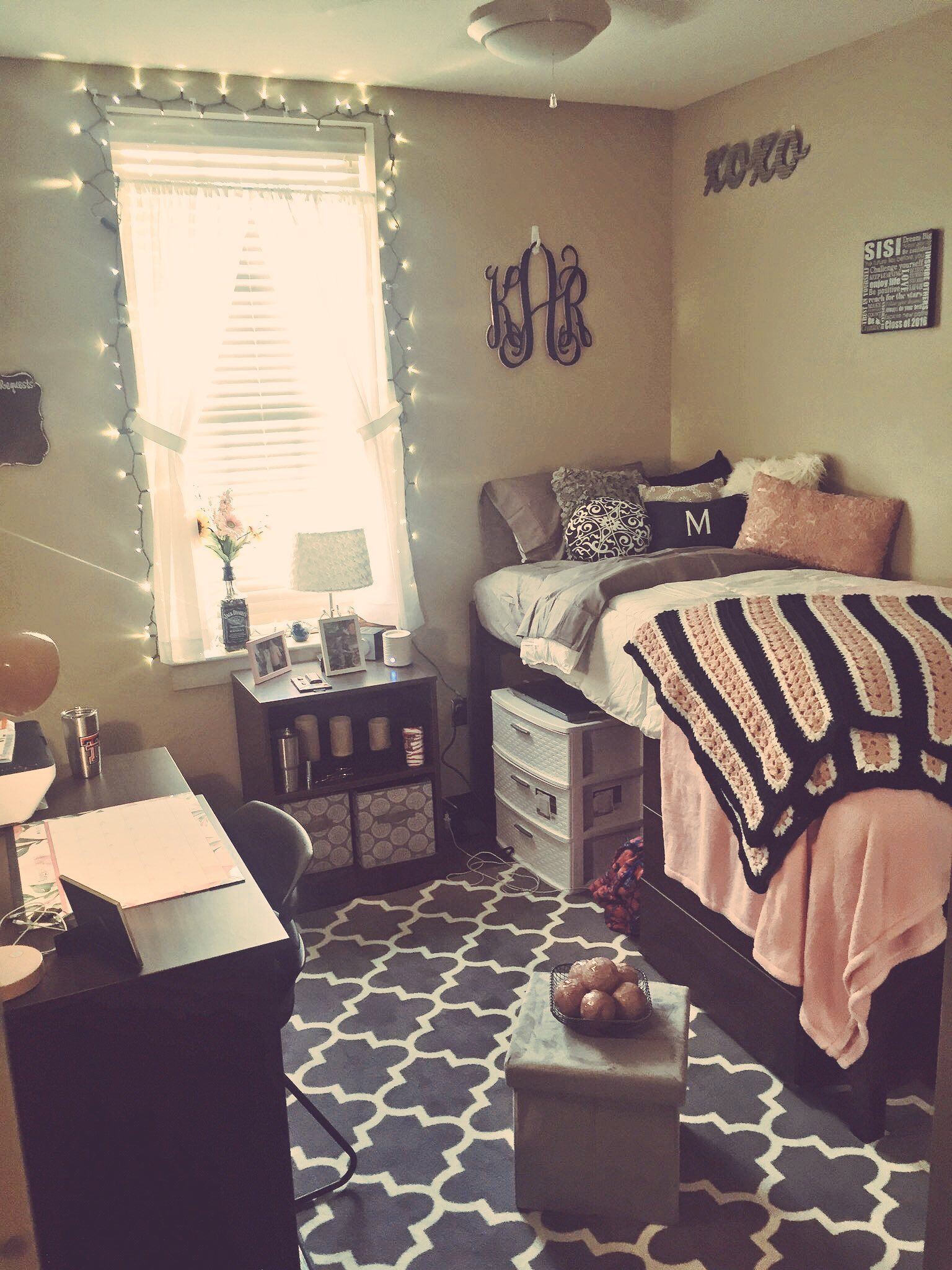 Dorm Room Idea Texas Tech Talkington Dorm Pinterest