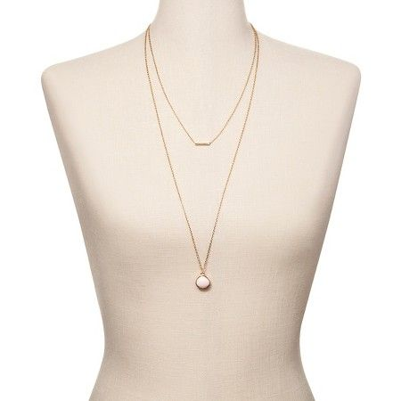 SUGARFIX by BaubleBar™ Layered Necklace - Rose : Target