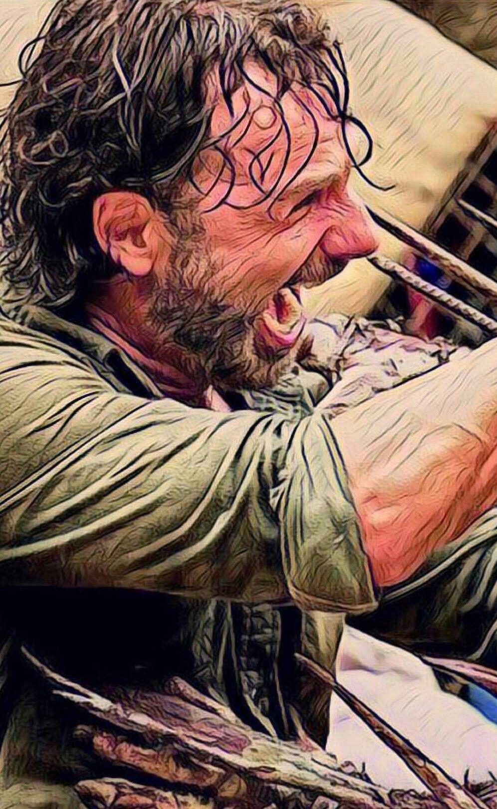 Rick Grimes Walking Dead Art The Walking Dead 3 The Walking Dead