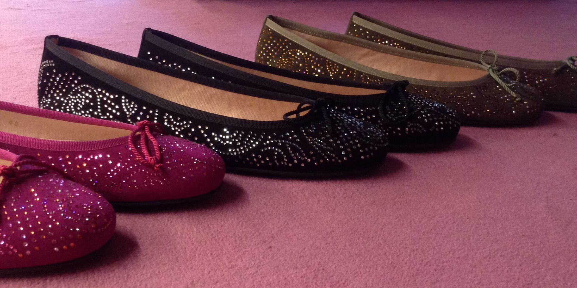 Pretty Ballerinas Swarovski collection!#prettyballerinas