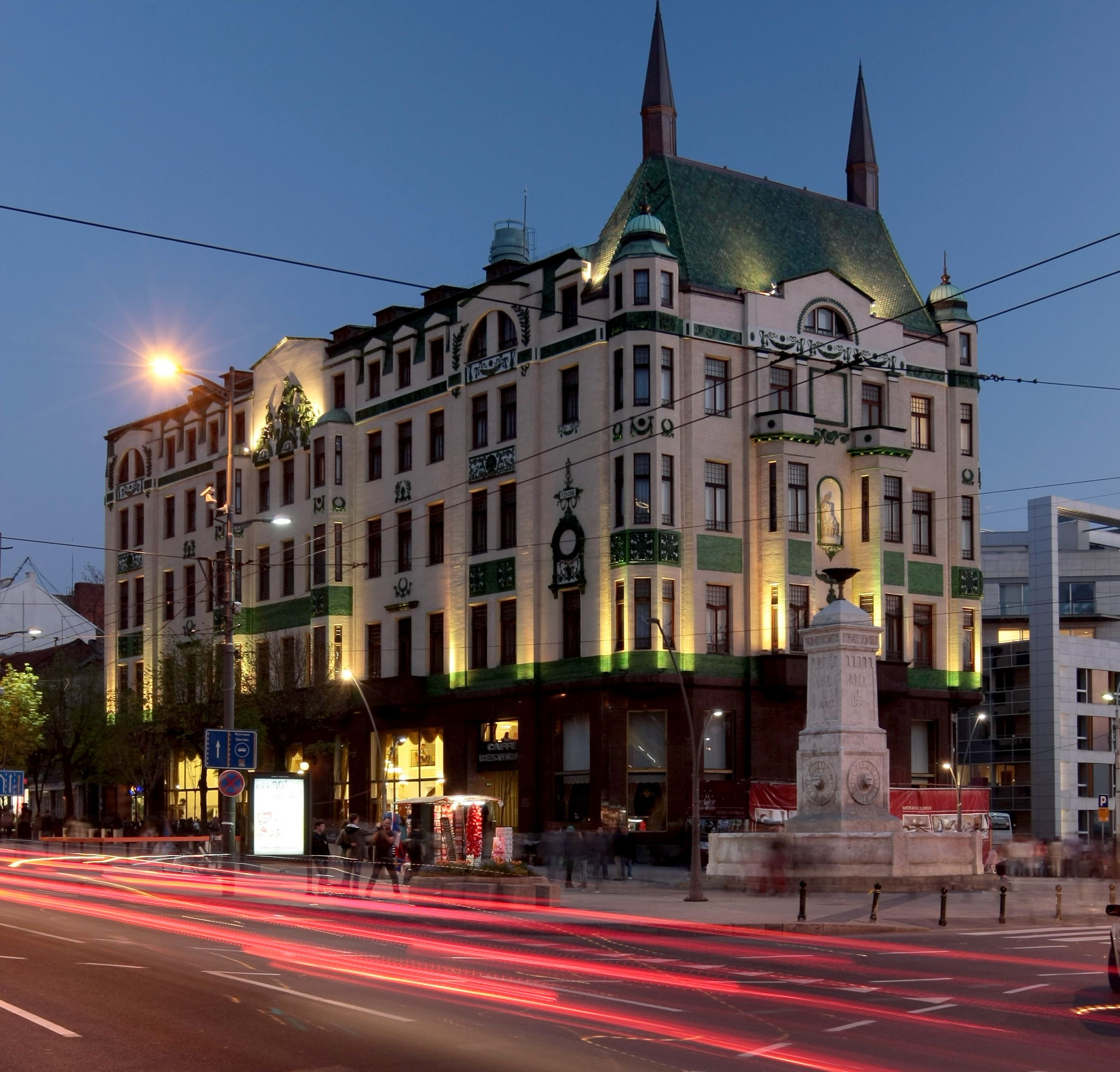 Pin Hotel Moskva 1908