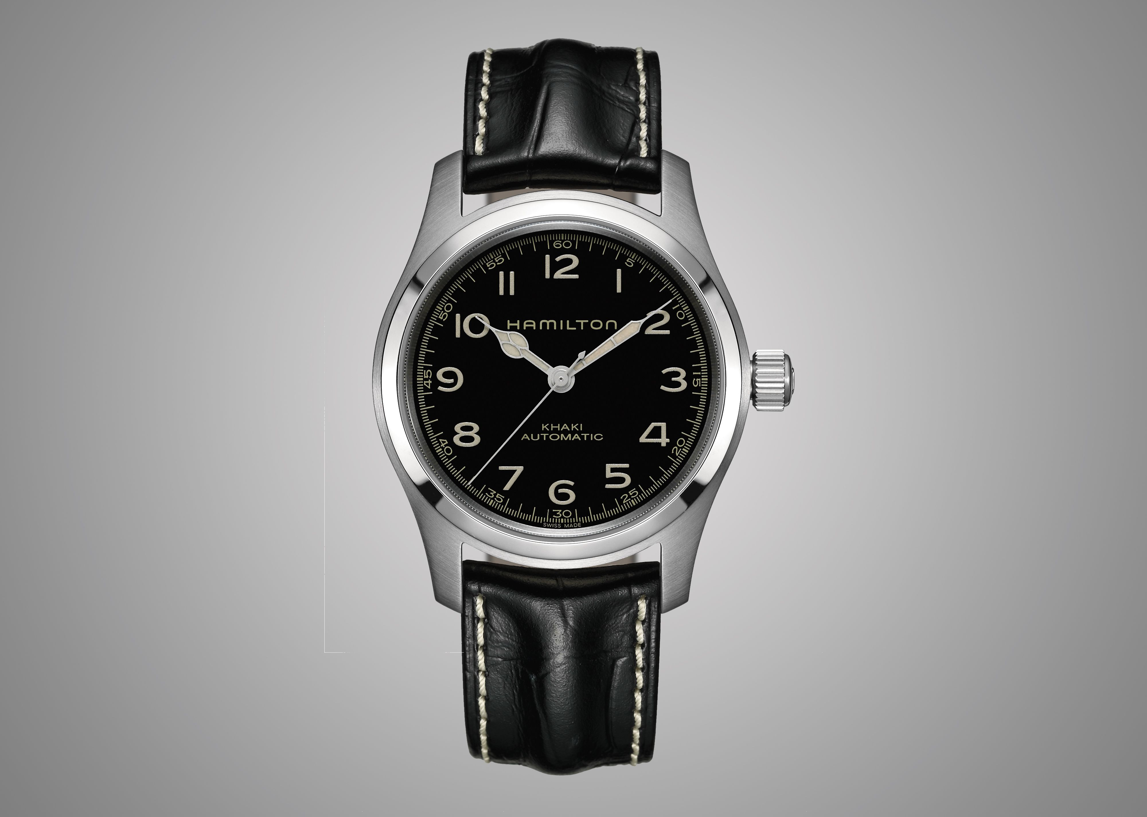 10fa8a8ff Mackenzie Foy as Murph (Murphy) Cooper... HAMILTON Khaki Automatic Special  Edition Watch in