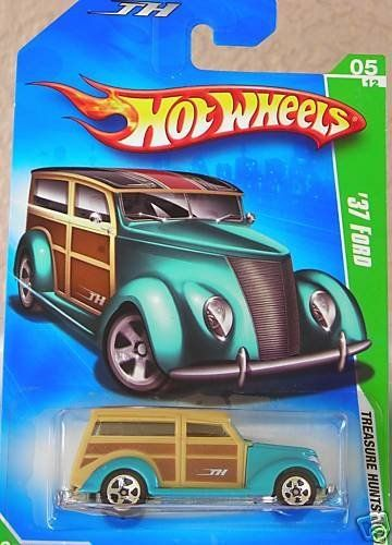 Hot Wheels 2009 Treasure Hunt '37 Ford 1:64 Scale by Mattel. $9.95. Hot Wheels 2009 Treasure Hunt '37 Ford 1:64 Scale. Hot Wheels 2009 Treasure Hunt '37 Ford 1:64 Scale