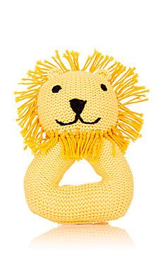 Knit Lion Rattle