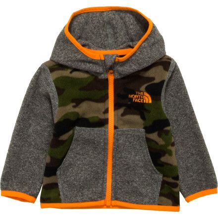 dcdb39dcf The North Face Glacier Full-Zip Hooded Jacket - Infant Boys' | Looks ...