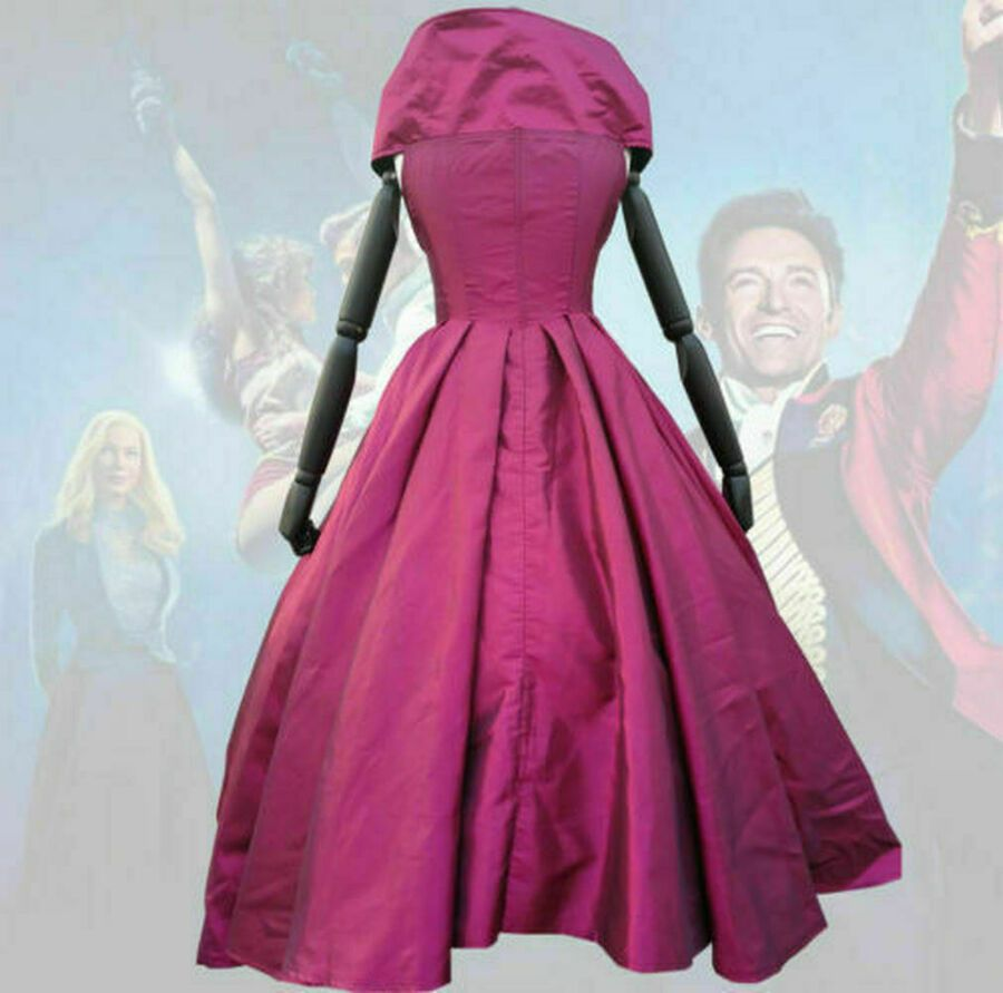 The Greatest Showman Lettie Lutz Bearded Lady Halloween Dress Cosplay Costume