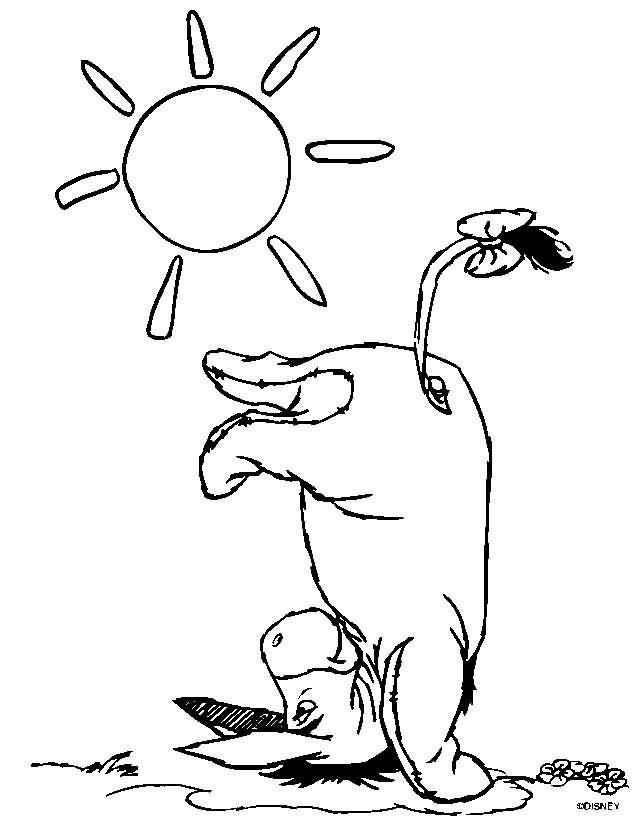 Burrito Al Sol Winnie Pooh Dibujo Pooh Dibujos