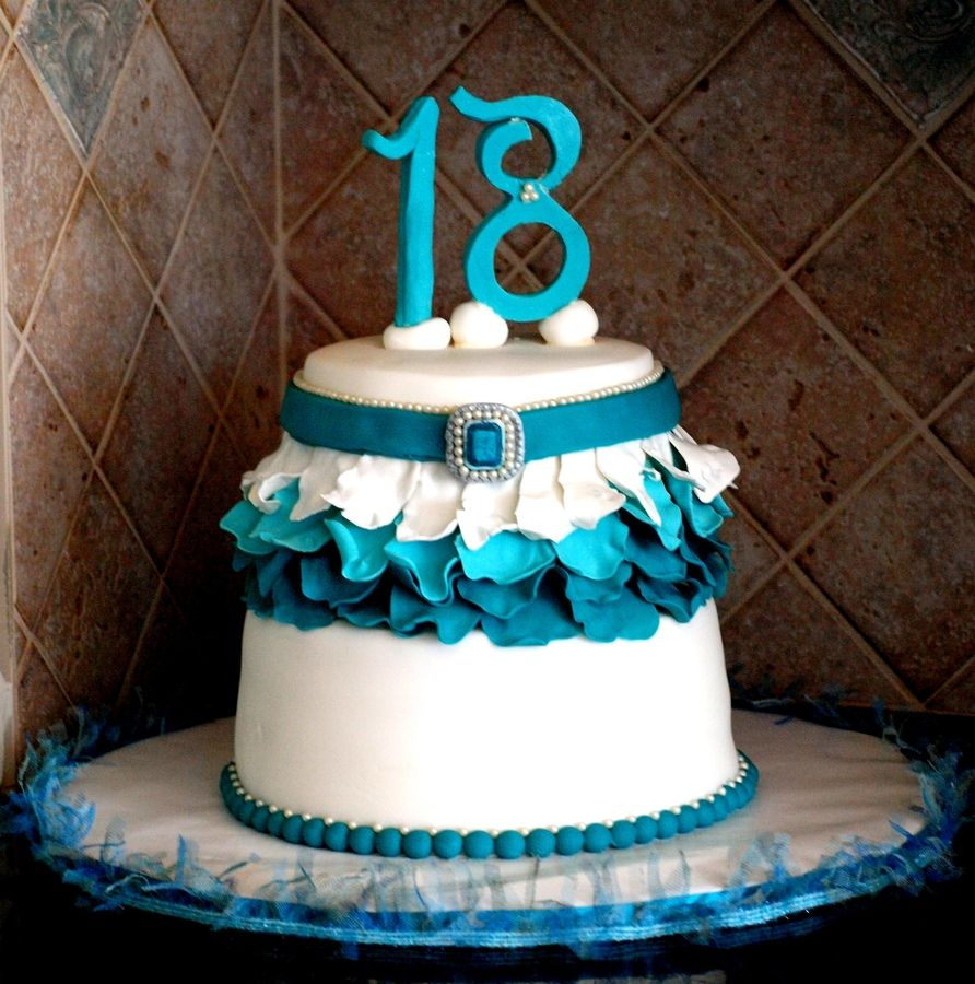 Photos Of Birthday Cakes 18 Years Old