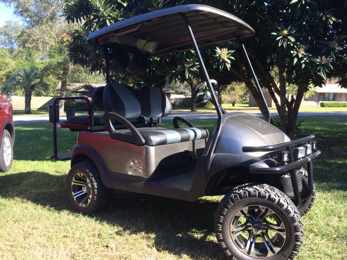 Fully customized DIY cart. | Golf cart paint ideas | Custom ... on accessories ideas, golf dinner decorations, garage ideas, golf candies ideas, john deere ideas, parade theme ideas, golf card ideas, tool box ideas, golf table ideas,