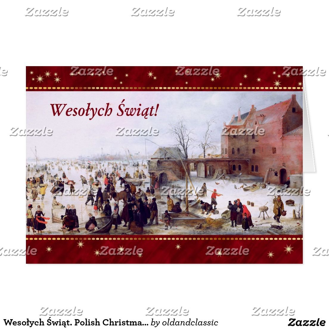 Wesoych wit polish christmas greeting cards vintage christmas polish christmas greeting cards m4hsunfo
