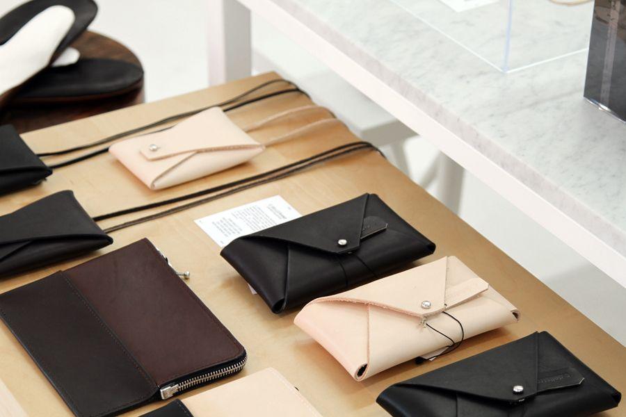 New Arrival: C. Dellstrand leather goods. Handmade in Sweden.