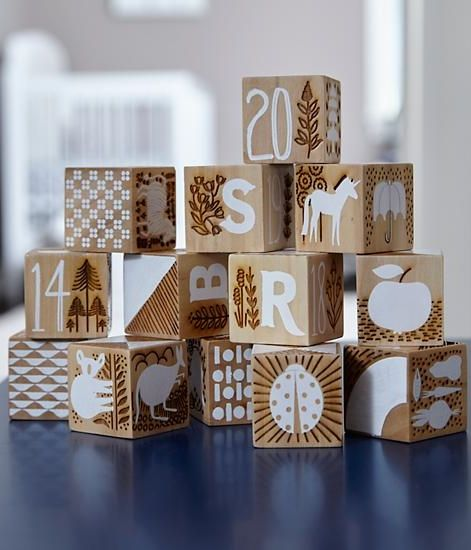Etched Wooden Blocks Reviews Crate And Barrel Baby Registry
