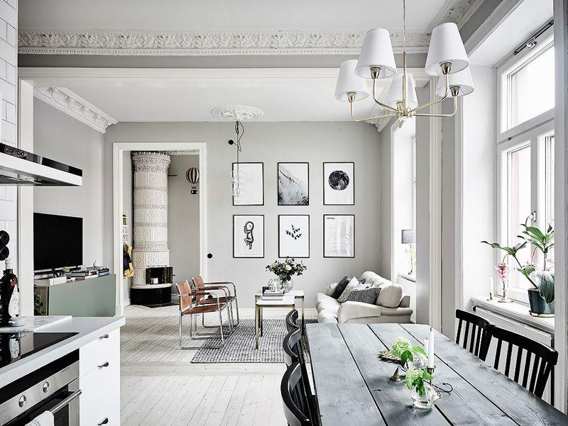 Déco scandinave de rêve : Un appartement nordique au style ...